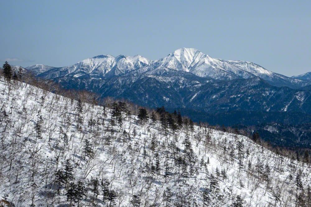 ニペソツ山 トムラウシ山 登山 北海道