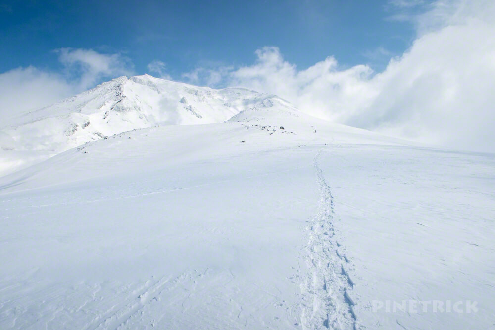 大雪山 旭岳 北海道 登山 スノーシュー