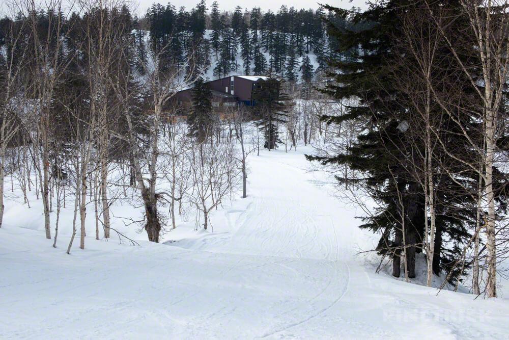 大雪山旭岳ロープウェー スキーコース Bコース 北海道 バックカントリー