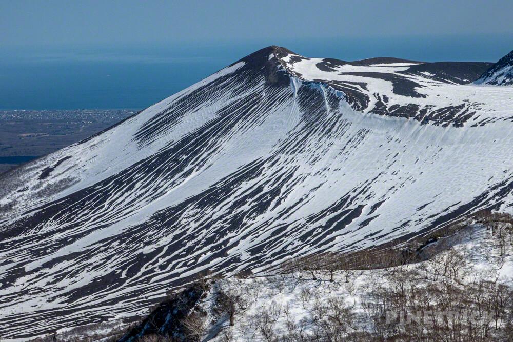 風不死岳 北尾根ルート 登山 北海道 樽前山 東山 ゼブラ