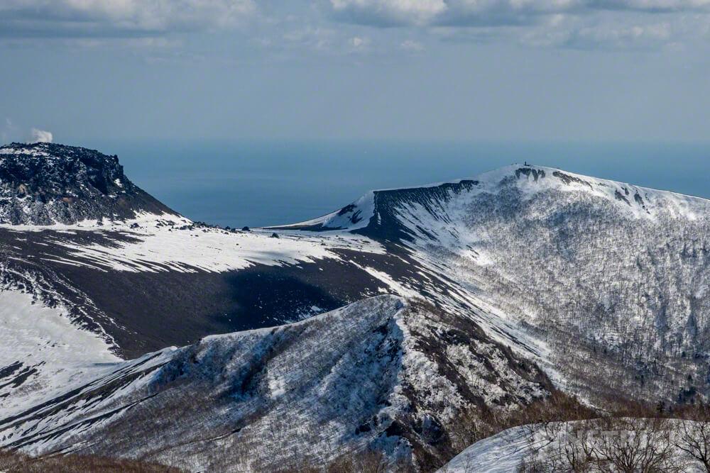 風不死岳 北尾根ルート 登山 北海道 樽前山 二氏山 ゼブラ