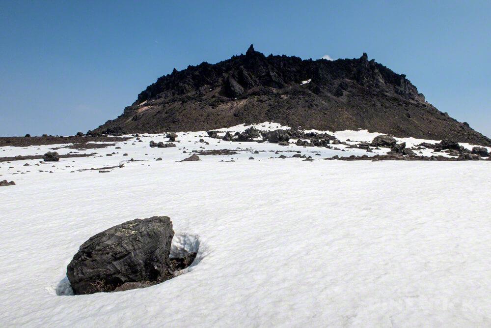 樽前山 溶岩ドーム 登山 北海道