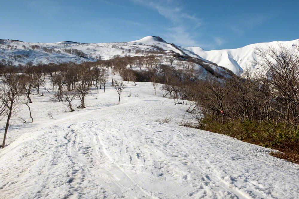 暑寒別岳 登山 北海道 増毛山塊