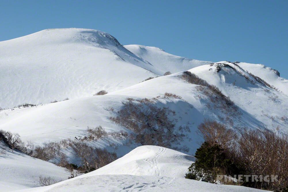 暑寒別岳 登山 北海道 増毛山塊 7合目