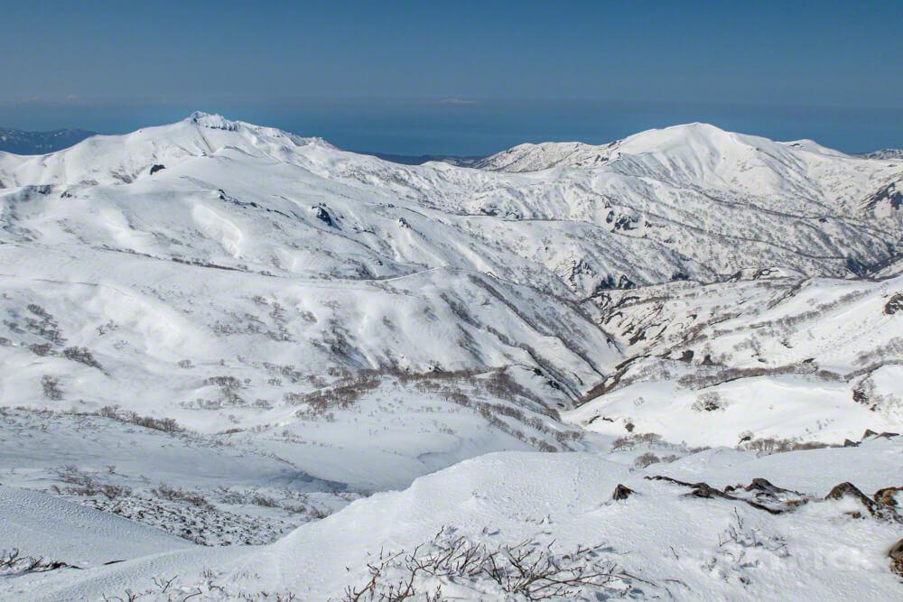 暑寒別岳 登山 北海道 増毛山塊 群別岳 浜益岳