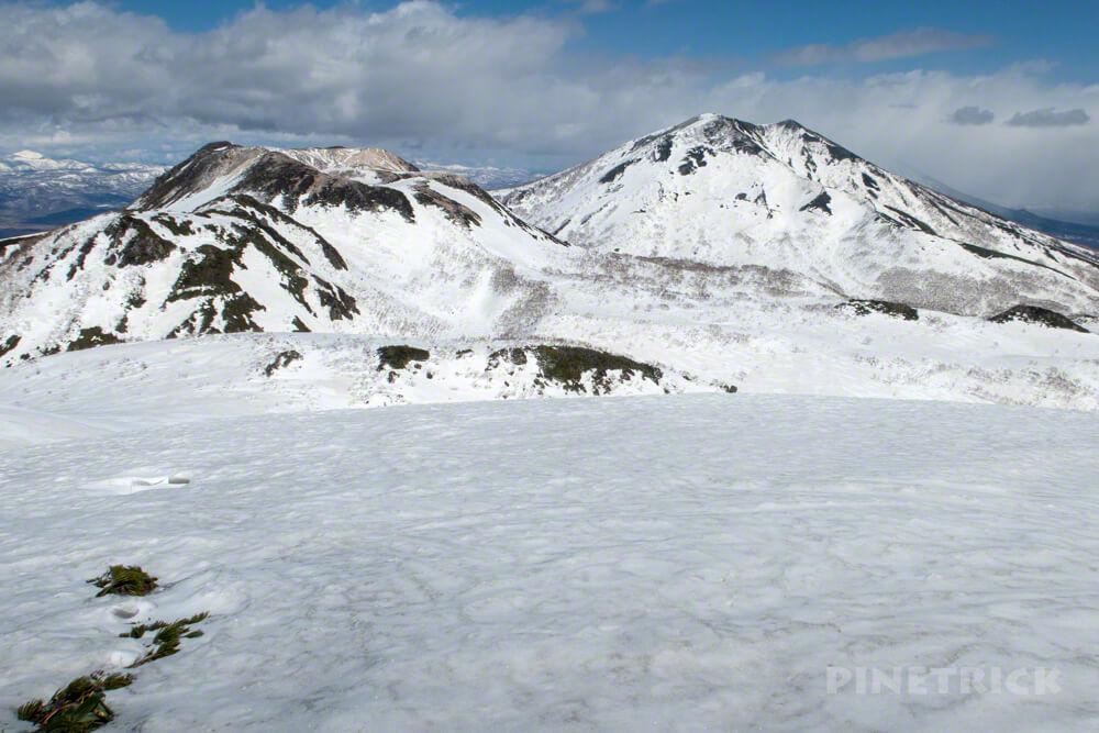 ニトヌプリ ニセコ スノーシュー 登山 北海道 ニセコパノラマライン 南峰 ニセコアンヌプリ