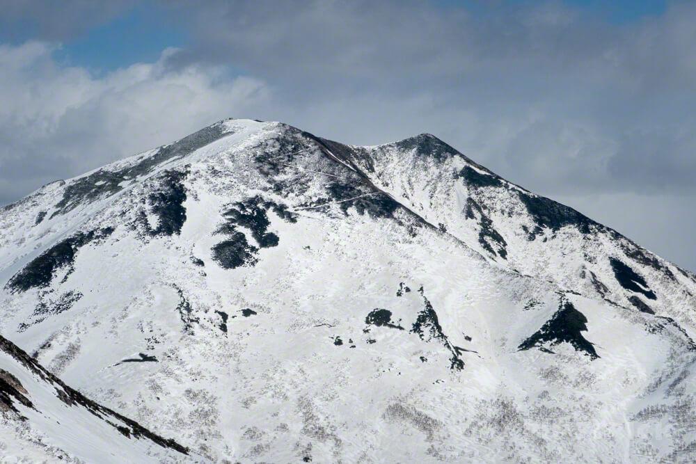 ニトヌプリ アンヌプリ 登山 北海道