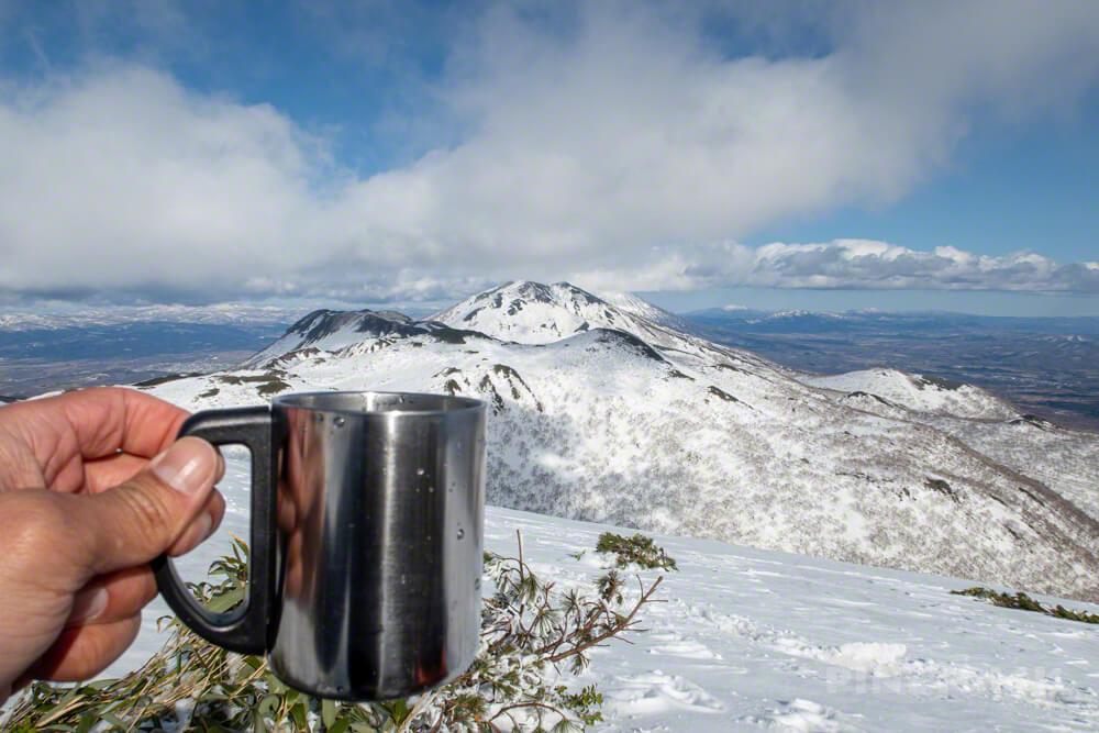 チセヌプリ イワヌプリ アンヌプリ コーヒー 登山 北海道