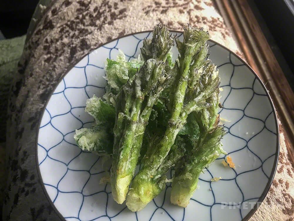 山菜 タラの芽 天ぷら 北海道
