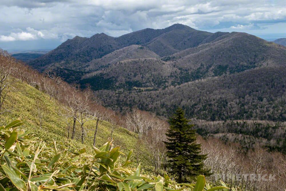 イチャンコッペ山 登山 北海道 紋別岳