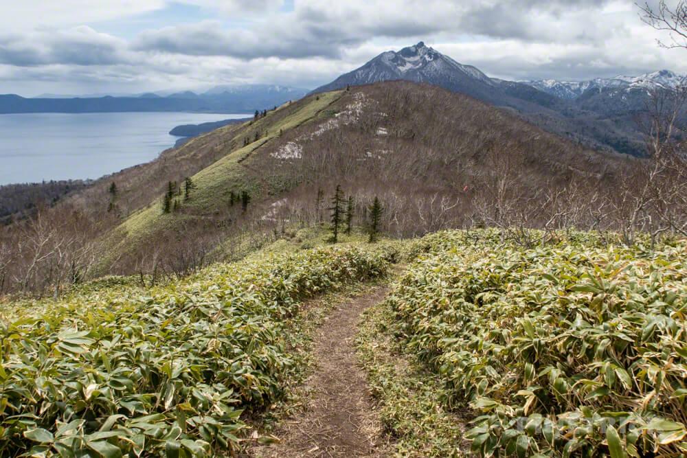 イチャンコッペ山 登山 北海道 恵庭岳