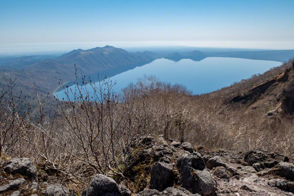 恵庭岳 登山 第一展望台 支笏湖 紋別岳
