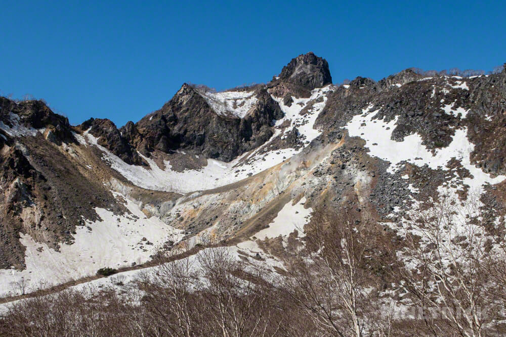 恵庭岳 登山 北海道 山頂