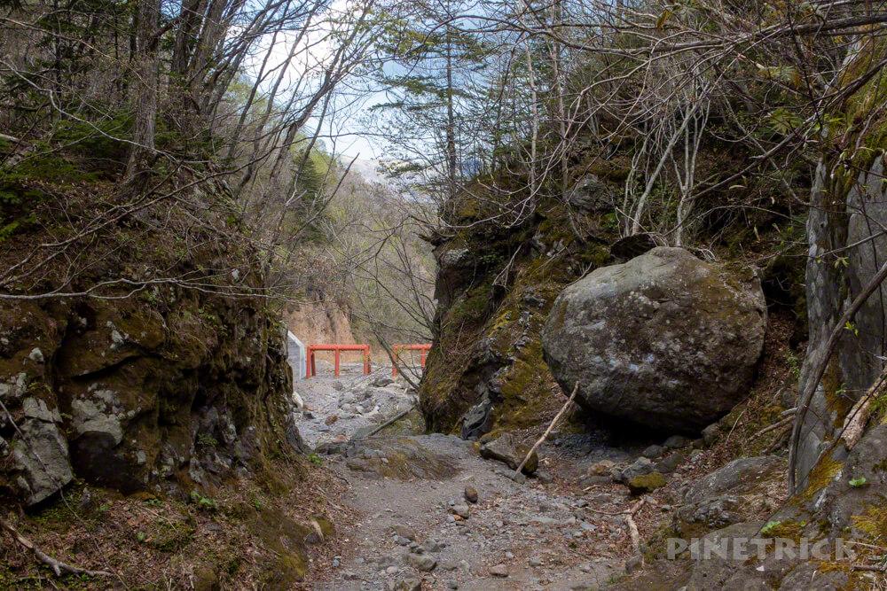 恵庭岳 登山 大岩 北海道