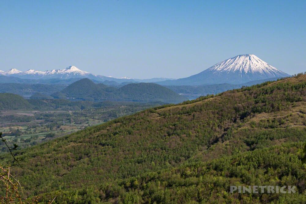 伊達紋別岳 登山 北海道 ニセコ連山 羊蹄山