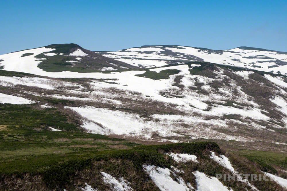 岩内岳 登山 北海道 雷電山