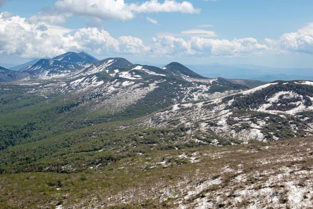 羊蹄山 ニセコ連山 岩内岳