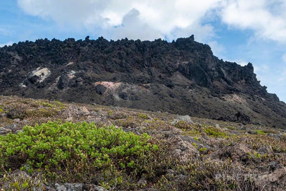 樽前山 登山 北海道 溶岩ドーム