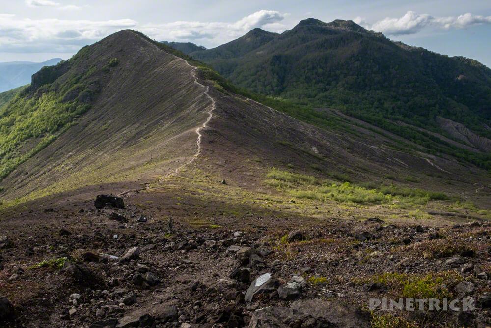 樽前山 登山 北海道 932峰  風不死岳