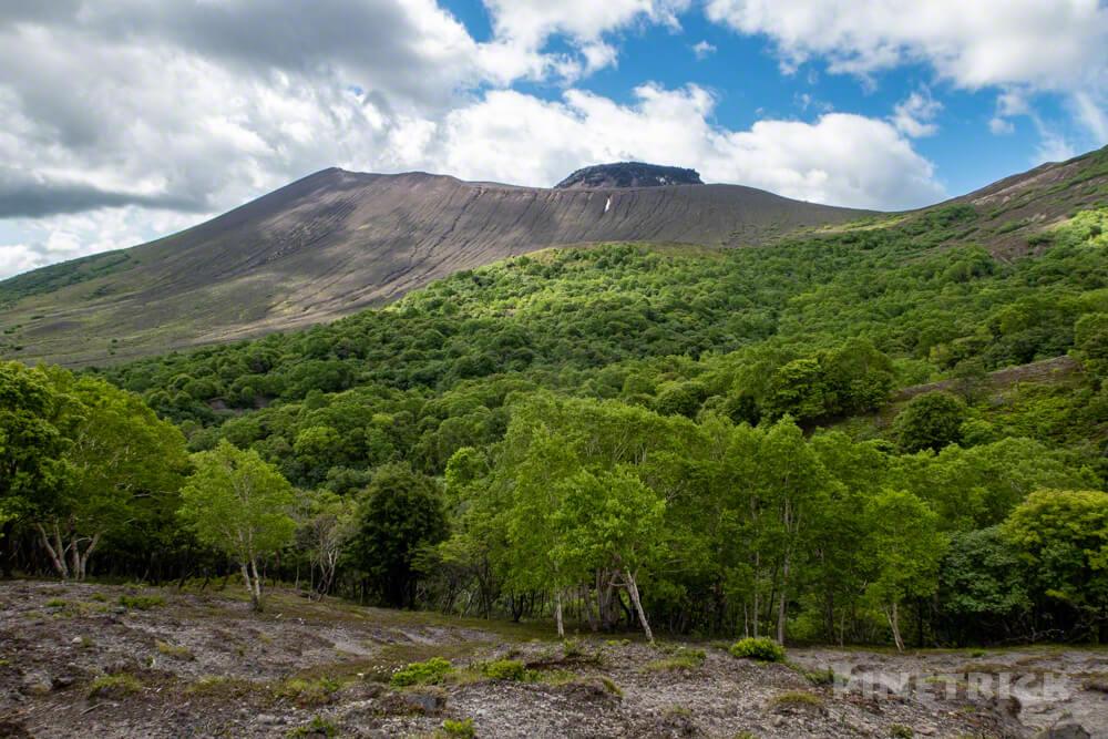 苔の回廊 楓沢 樽前山 登山 北海道