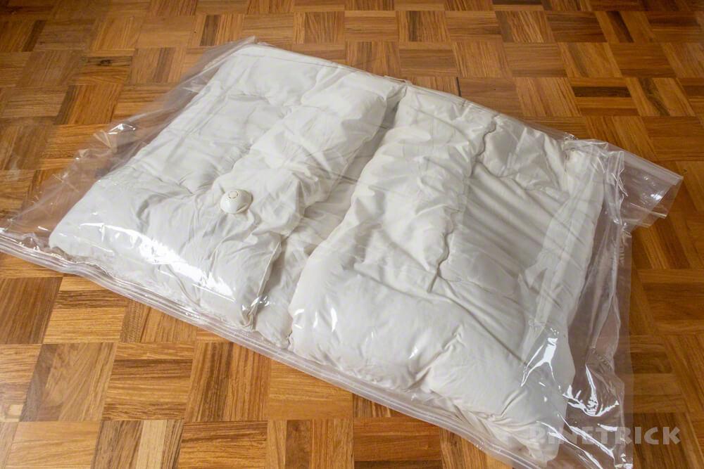 ふとん圧縮袋 ダイソー 価格 簡単 掃除機