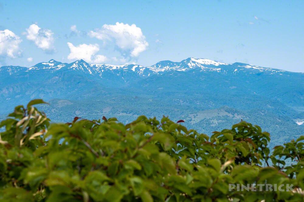 神居尻山 登山 北海道 山頂 暑寒別岳