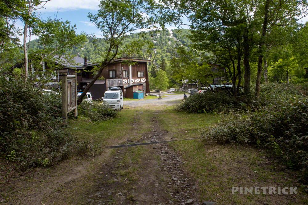 緑岳 大雪山 登山口 高原温泉ヒグマ情報センター