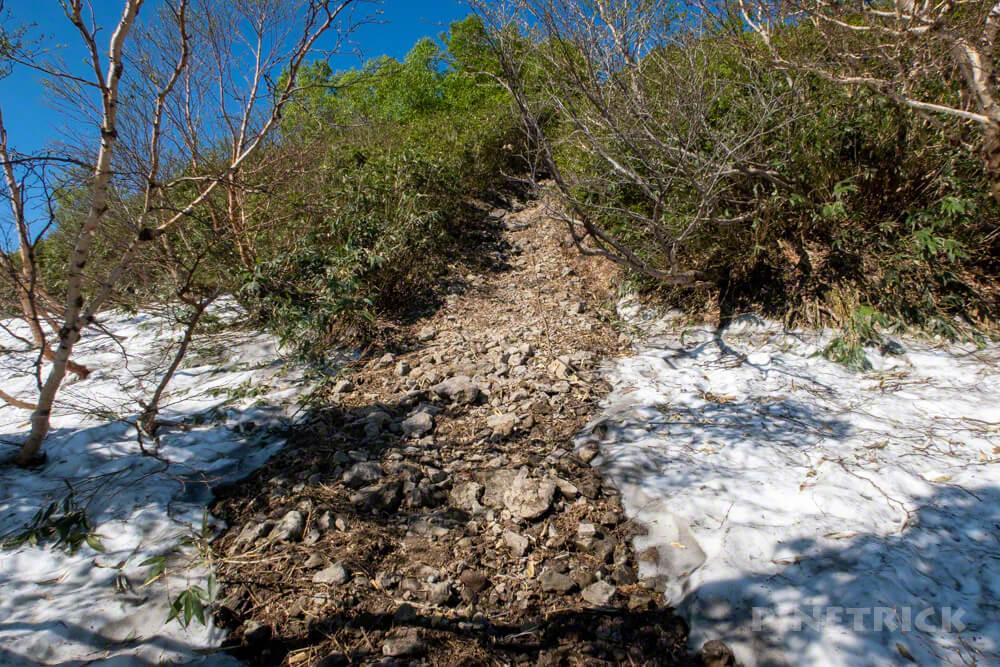 暑寒別岳 登山 北海道 暑寒コース