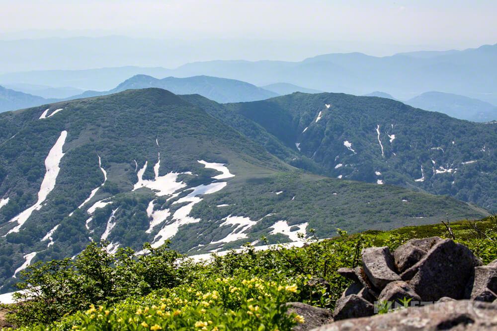 暑寒別岳 登山 北海道 暑寒コース 山頂台地 山頂 増毛山地 増毛山塊 南暑寒別岳