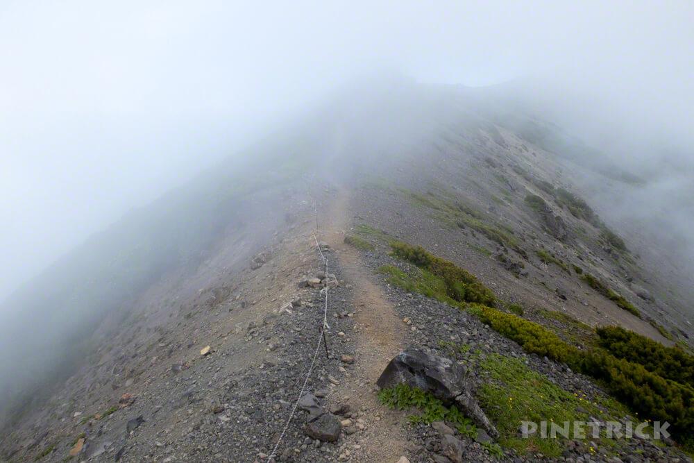 羊蹄山 京極コース 登山 北海道 外輪