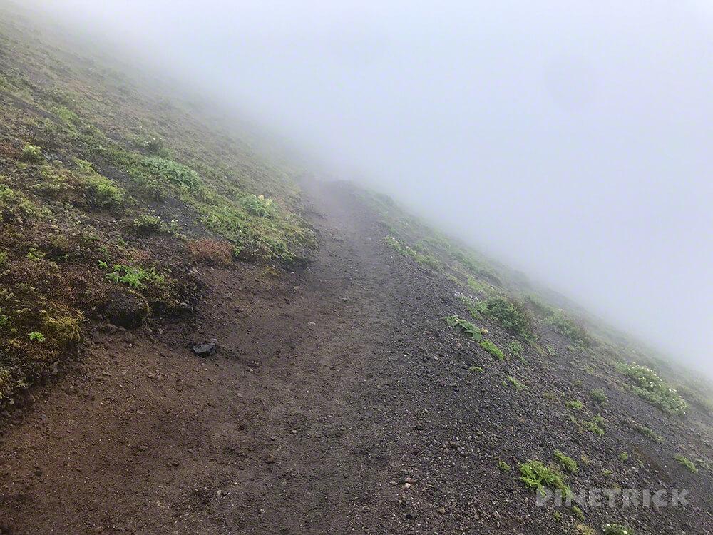 樽前山 登山 北海道 夏道