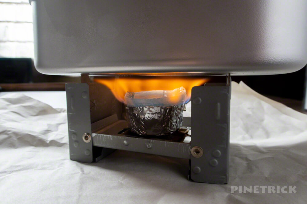 ダイソー 固形燃料 エスビット ストーブ メスティン 炊飯