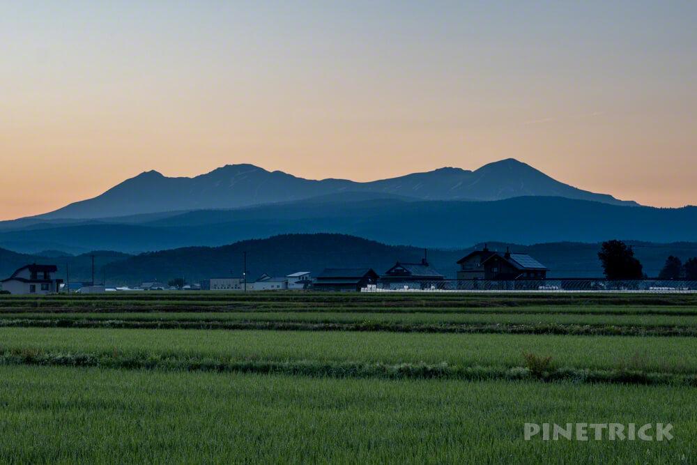 大雪山 旭岳 愛別岳 テント泊 登山 北海道
