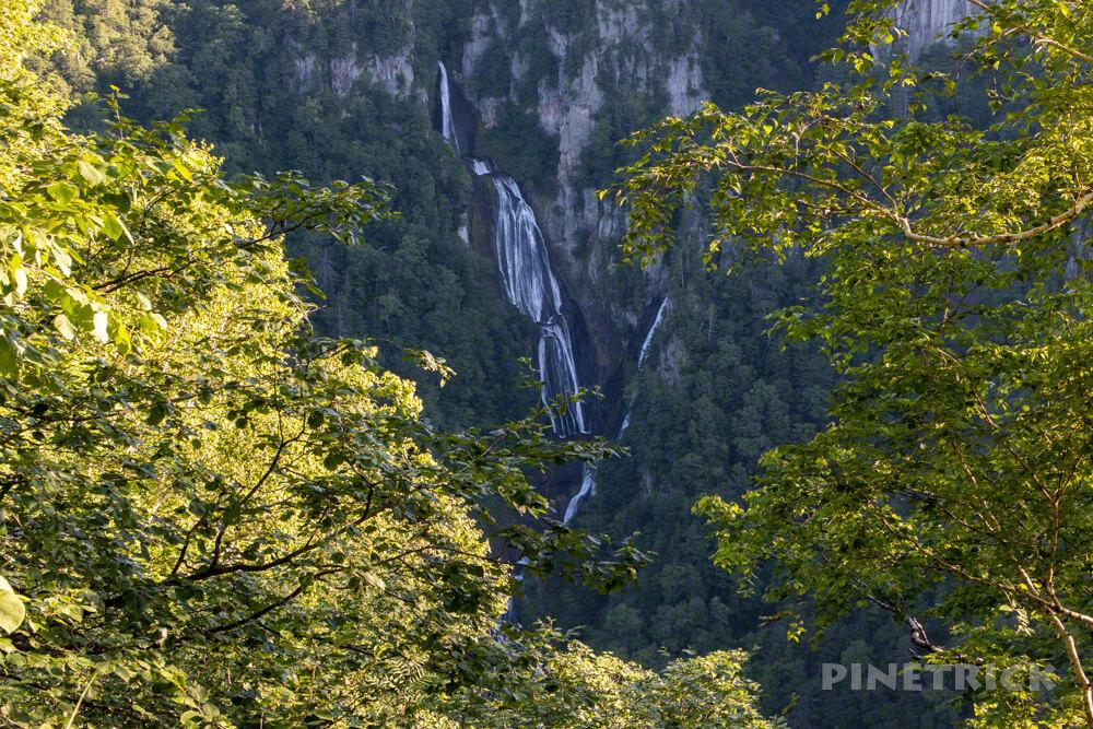 登山 北海道 天人峡コース 羽衣の滝 滝見台 ヒサゴ沼 トムラウシ山