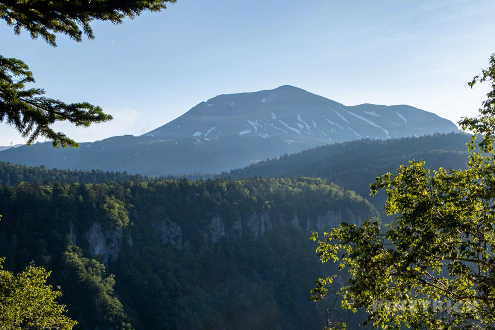 登山 北海道 天人峡コース 羽衣の滝 滝見台 旭岳