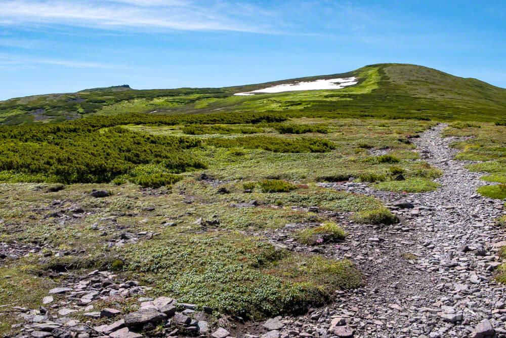 登山 北海道 天人峡コース テント泊 小化雲岳