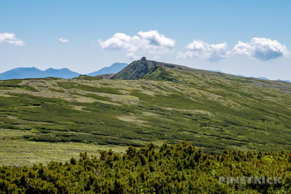 登山 北海道 天人峡コース 化雲岳