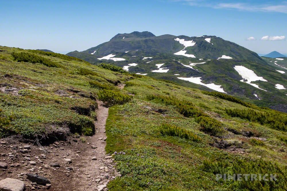 登山 北海道 天人峡コース トムラウシ山
