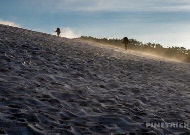 ヒサゴ沼 天人峡コース テント泊 避難小屋泊 雪渓