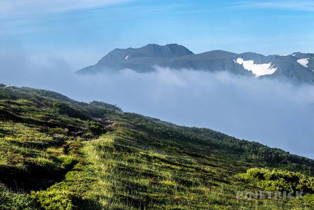 天人峡コース 登山 北海道 トムラウシ山