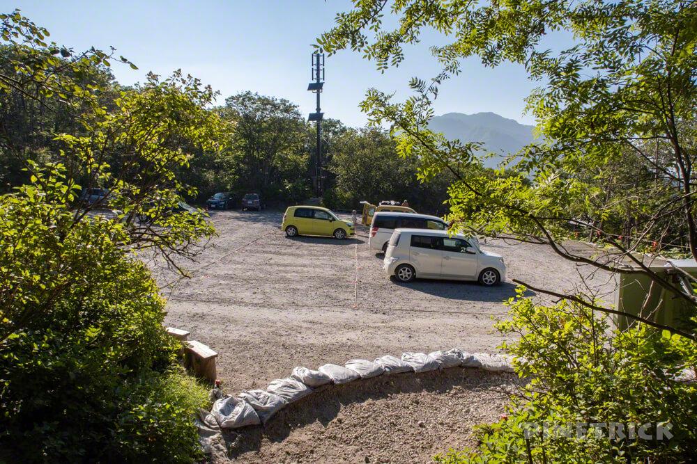 樽前山 7合目登山口 駐車場 北海道