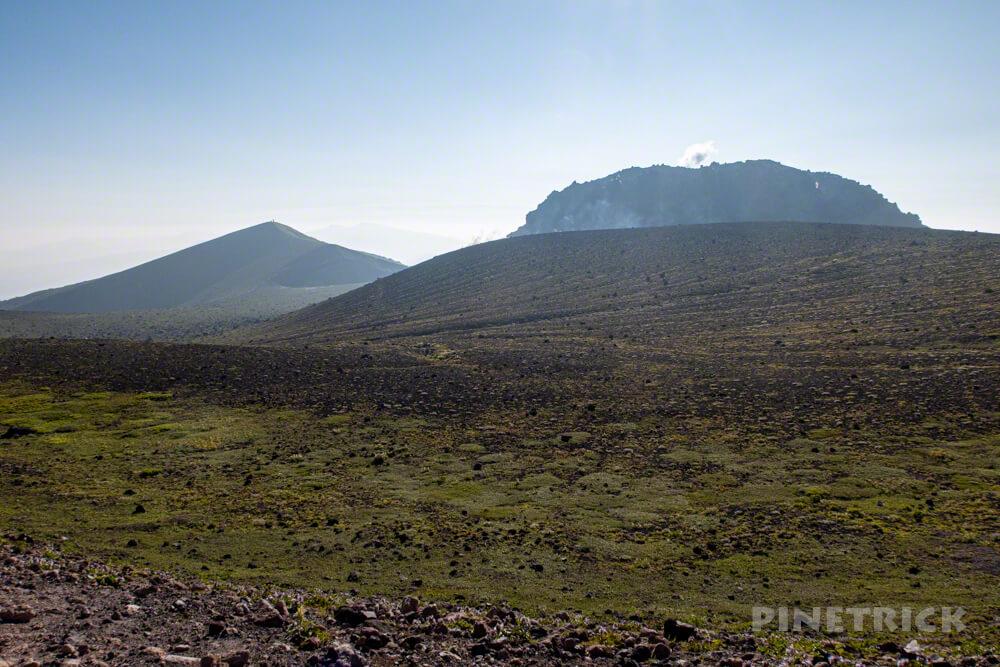 樽前山 北海道 登山 西山 溶岩ドーム pm2.5