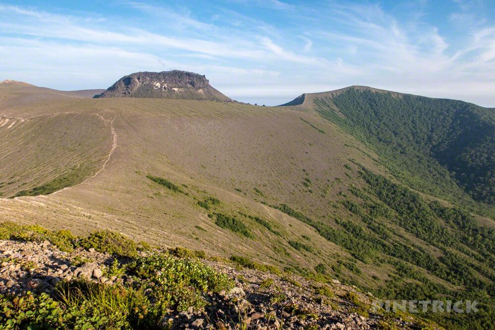樽前山 北海道 登山 西山 溶岩ドーム