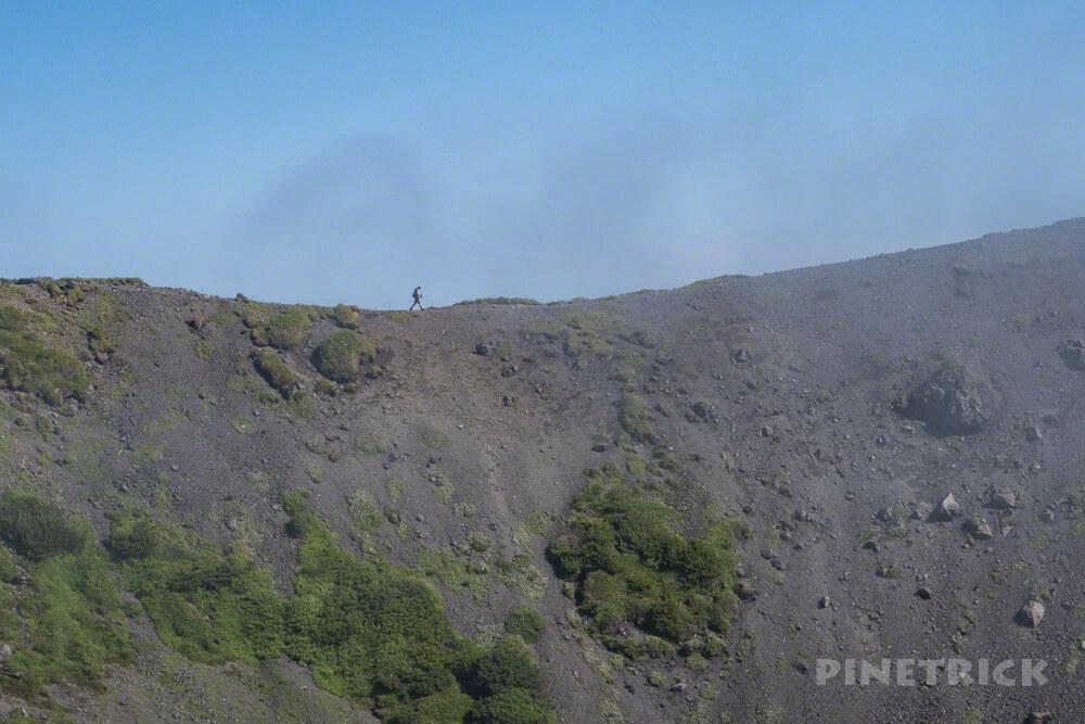 羊蹄山 真狩コース 登山 北海道 外輪