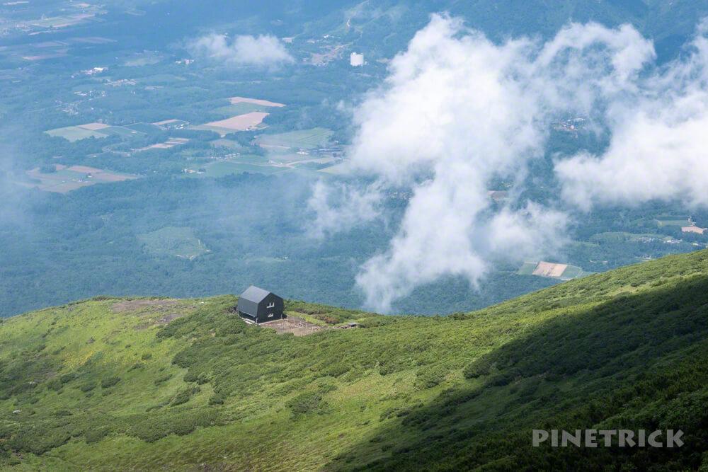 羊蹄山 真狩コース 登山 北海道 避難小屋