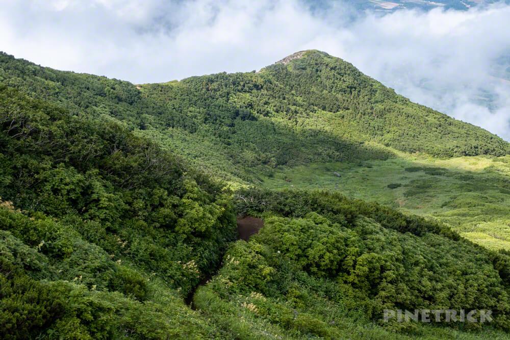 羊蹄山 真狩コース 登山 北海道