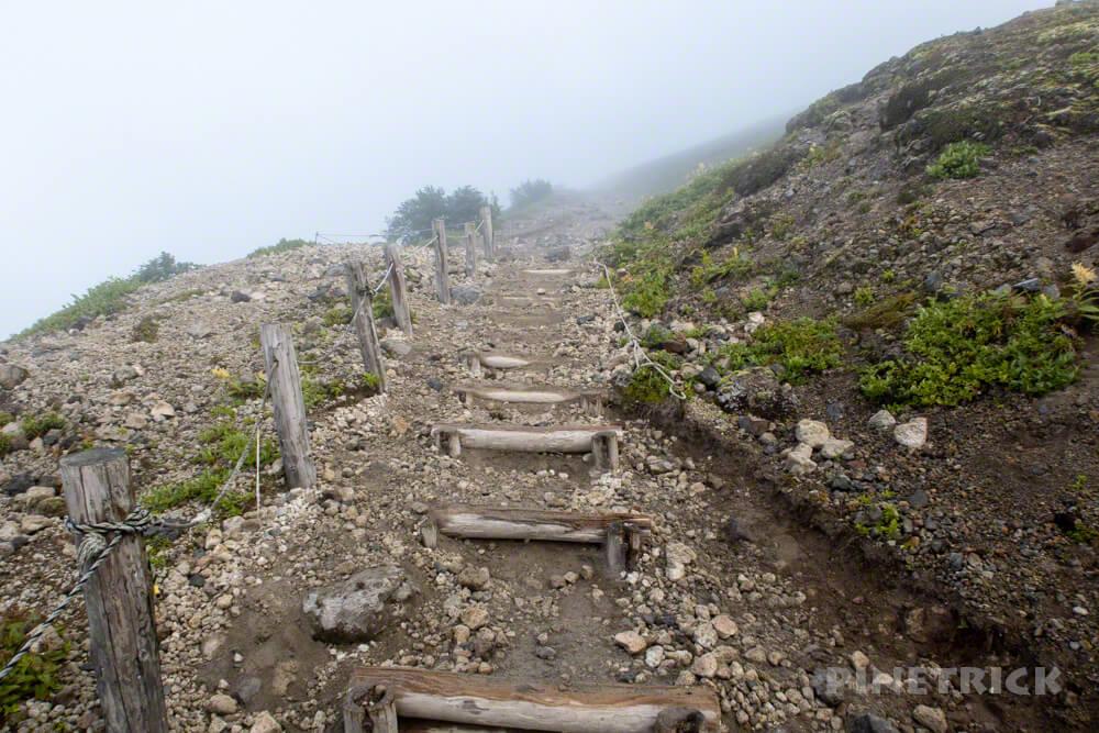 樽前山 登山 北海道