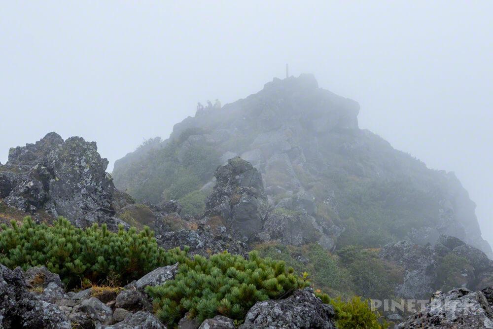 羊蹄山 倶知安コース ヒラフコース 登山 北海道 外輪 山頂