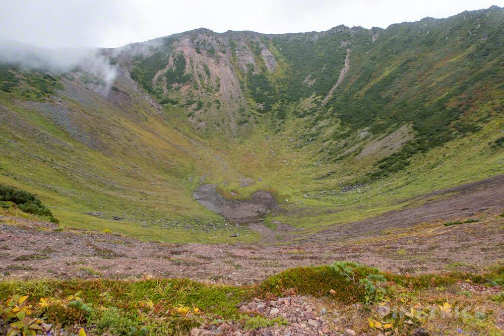 羊蹄山 倶知安コース ヒラフコース 登山 北海道 外輪