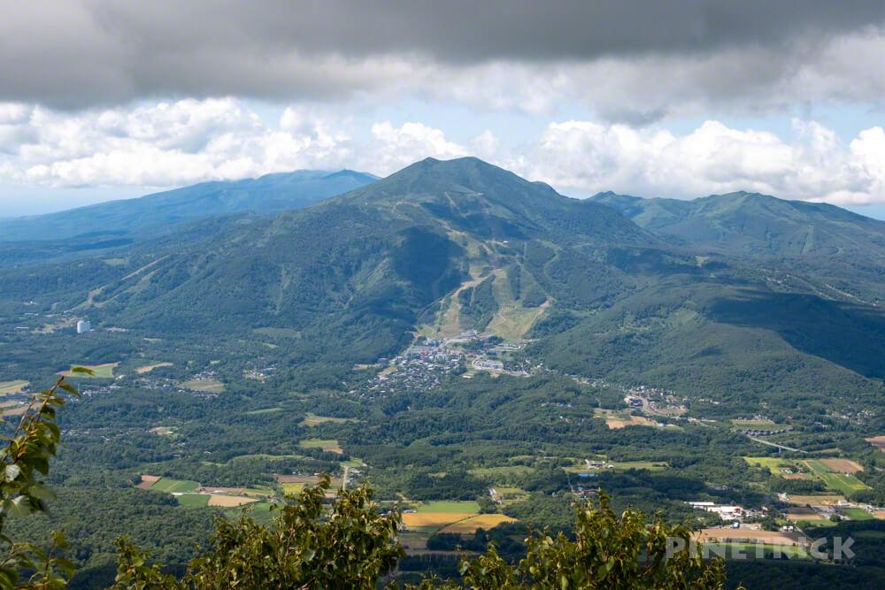 羊蹄山 倶知安コース ヒラフコース 登山 北海道 ニセコアンヌプリ